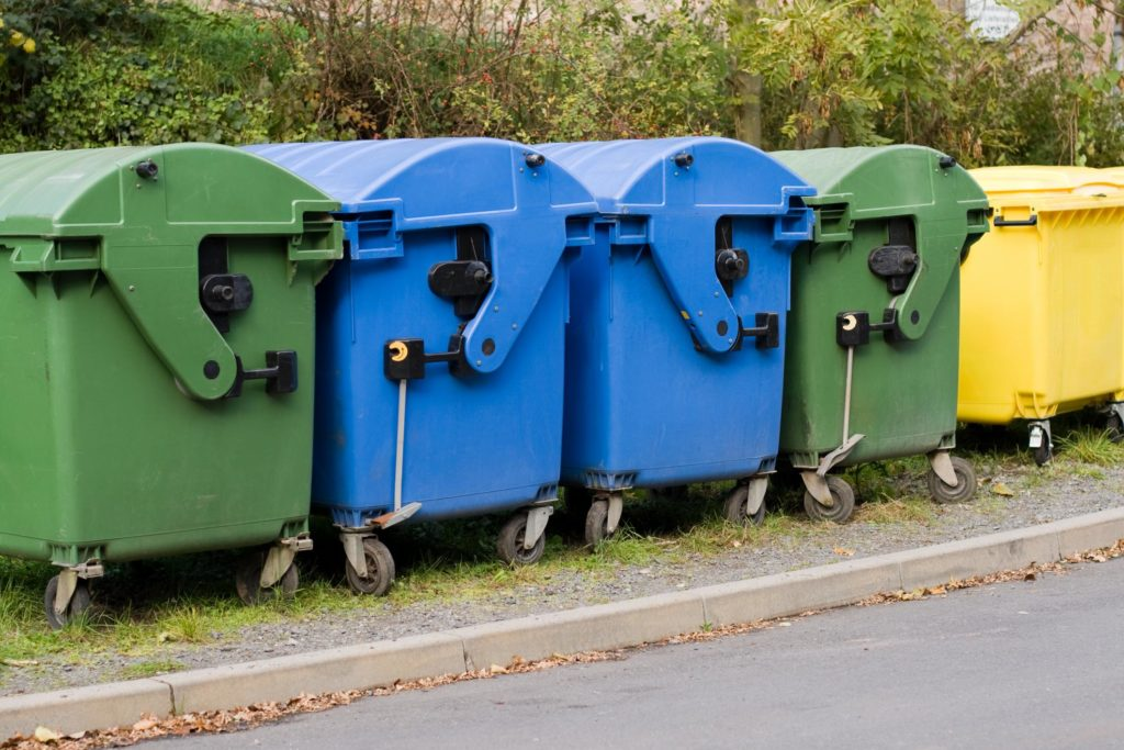 a city roller dumpsters